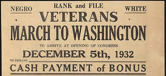 Bonus Army Radio Diaries The March To Washington 1932 Edition Radio Diaries
