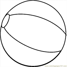 Small Picture Beach Ball Coloring Pages 6 490x521 Summer Pinterest Beach