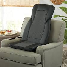 massage chair for car. this roomy shiatsu massaging seat topper lets you enjoy a deep-kneading, rolling massage in just about any seat. treat your entire back or target trouble chair for car b