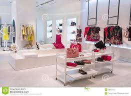 Designer Boutique Women S Women Fashion Store Stock Photo Image Of Luxury Wear