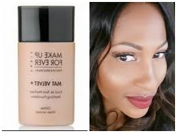 photo 7 of 10 makeup forever mat velvet matifying foundation review you beautiful make up forever mat