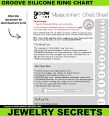 Qalo Size Chart Groove Silicone Ring Review Jewelry Secrets