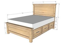 Width Of Queen Bed King Size Queen Bed Width Size Amp King Length Of A Measurements