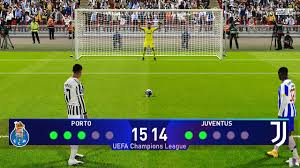 PES 2021 | Porto vs Juventus | Penalty Shootout | UEFA Champions League UCL