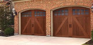 garage door wood lookGlenmoor Garage Door Collection Wood Look without the Wood Price