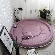 ultra soft thicken round carpet cute tatami pad children crawling mat fluffy living room carpet bedroom