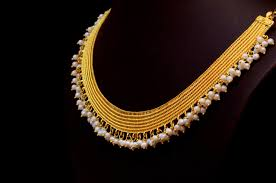Bhima Gold Jewellery Designs Mangalsutra Gold Jewellery Designs Kasavu Mala By Bhima Jewellers