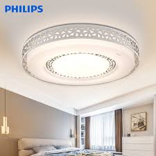 philips philips led ceiling lamp living room study bedroom modern minimalist hollow border lighting fixtures three sections dimming dazzling 30w