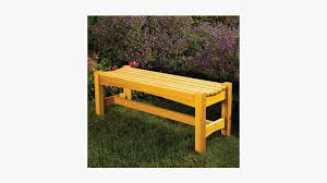 outdoor bench woodworking plans hd png