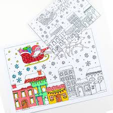 Christmas Coloring Paper Christmas Colouring Pages For Grown Ups Red Ted Arts Blog