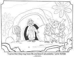 Small Picture Jesus is Risen Coloring Page Whats in the Bible