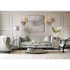marble living room table. Laci Hollywood Regency Silver Marble Oval Coffee Table Living Room Tables Kathy Kuo