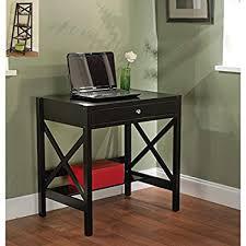 Compact office desks White High Gloss Simple Living Black Xdesign Writing Desk Office Desk Small Office Desk Amazoncom Amazoncom Simple Living Black Xdesign Writing Desk Office Desk