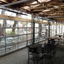 Marvelous Aluminum Full View Glass Garage On Restaurant Overhead For