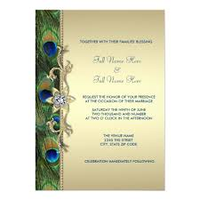peacock invitations emerald green and gold peacock wedding card zazzle co uk