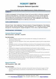 Network Specialist Resume Samples Qwikresume