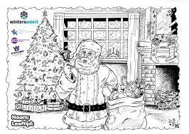 Huis Van De Kerstman Winters Weert