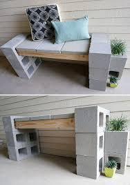 concrete block furniture. modren block cinderblockgardenprojects91 intended concrete block furniture