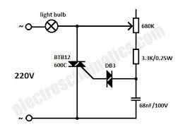 light dimmer switch circuit Light Switch Wiring Diagram For Dimmer light dimmer circuit wiring diagram for light dimmer switch