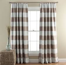 Striped Bedroom Curtains Home Decoration Fascinating Gray And White Horizontal Striped