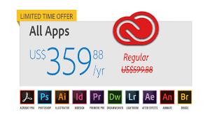 Adobe Creative Suite Comparison Chart