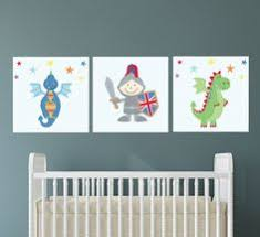 knights dragon canvas wall print for a boys dragon or knight themed bedroom nursery decor toddler wall art shower gifts on toddler canvas wall art with knights dragon canvas wall print for a boys dragon or knight