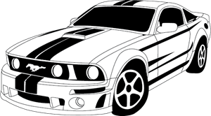 FORD MUSTANG Logo Vector (.AI) Free Download