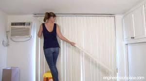 conceal vertical blinds