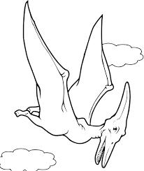 Coloriage Dinosaure Volant Dessin Imprimer Sur Coloriages Info