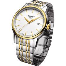 buy the men s tissot t085 410 22 011 00 watch francis gaye men 039 s carson two tone date display watch