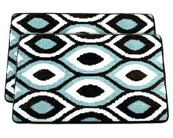 brown bath rug sets light blue bathroom rugs light blue bathroom rugs glamorous brown and blue