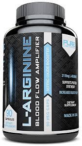l arginine pure a 2110mg l arginine nitric oxide booster build muscle increase