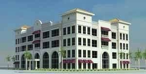 palm beach gardens office. Rendering Of An Office Building At PGA Station In Palm Beach Gardens 0