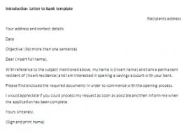 Example of Formal Letter of Introduction