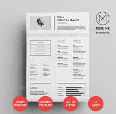 Indesign Resume Delectable 28 Best Simple Photoshop InDesign Resume Templates Web Graphic