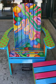 bright painted furniture. love a bright painted chair i so want these chairs furniture t