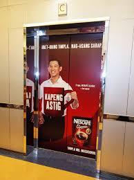 Door Wraps Elevator Door Wraps When The Doors Opened The Dress Shirt Image