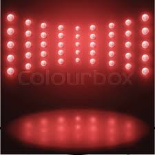 vector stage lighting background with red light bulbs stock colourbox lights background d85 lights