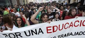 Resultado de imagen de manifestación con pancartas