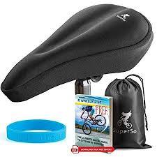 superso bike gel seat cushion cover