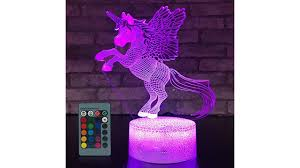 Jmllyco Unicorn Night Light Unicorn Gifts 16 Colors Change With
