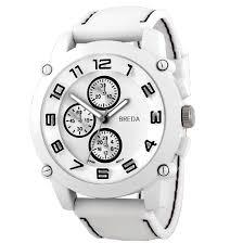 breda men s analog watches 19 99 for a breda men s watch colton white band white dial 8135 white 45 list price