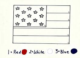 Small Picture memorial day american flag coloring sheet song kiboomu worksheets