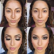 how to highlight and contour your face with makeup contour makeup highlight