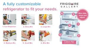 frigidaire gallery custom flex top freezer refrigerator