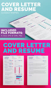 Modern Cover Letters New Modern Cv Resume Templates With Cover Letter Design