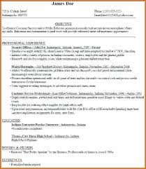 High School Resume Templates Interesting Resume Examples College Student Sample For High School Students With