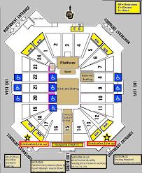 Graduation Commencement Parking Map And Cu Events Center Map