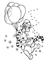 Kleurplaat Winnie De Poeh Bewegende Animatie 0042 Disney Drawing