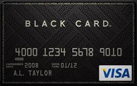 How To Get A Black Card Visa Black Card Card Black Card